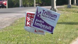 Kingston bans election signs on public property
