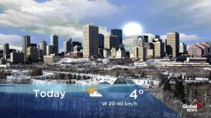 Edmonton early morning weather forecast: Dec. 13