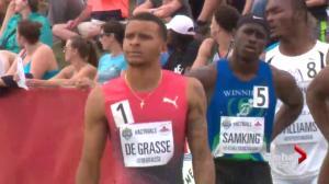 Rio 2016: Andre de Grasse a contender in Men's 100-metre