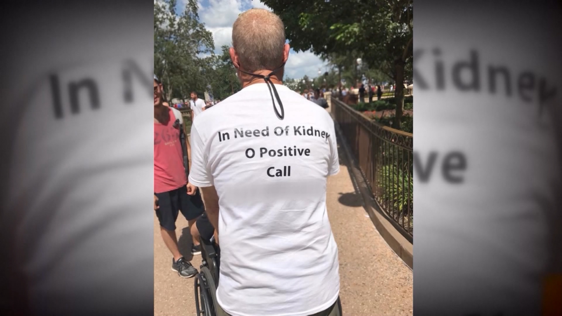 Shirt Plea Gives Man A New Kidney