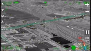 Speed, sparks and surrender: Air1 video footage of Winnipeg police pursuit