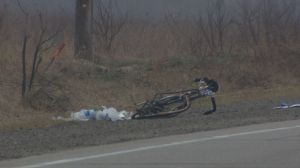 26-year-old male cyclist killed in hit-and-run