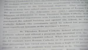 Saskatchewan responds to Catholic funding ruling