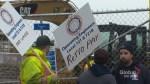 Nova Scotia crane operators go on strike