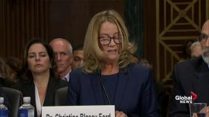 Christine Ford: I thought Brett Kavanaugh would accidentally kill me