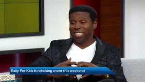 Pinball Clemons on the annual Toronto Rally for Kids