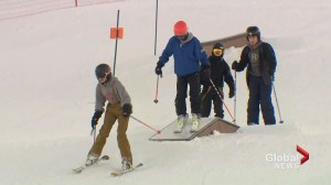 Cold snap causes drastic drop in riders at Canada Olympic Park