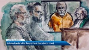 Alleged serial killer Bruce McArthur due in court