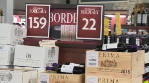 Bordeaux lovers brave lineups at BC Liquor Stores