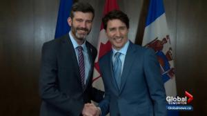 Prime minister visits Edmonton for 1st time since provincial election