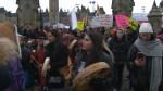 Across Canada, women march in solidarity with U.S.