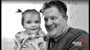 Alberta family grieving death of little girl now mourning loss of toddler's dad