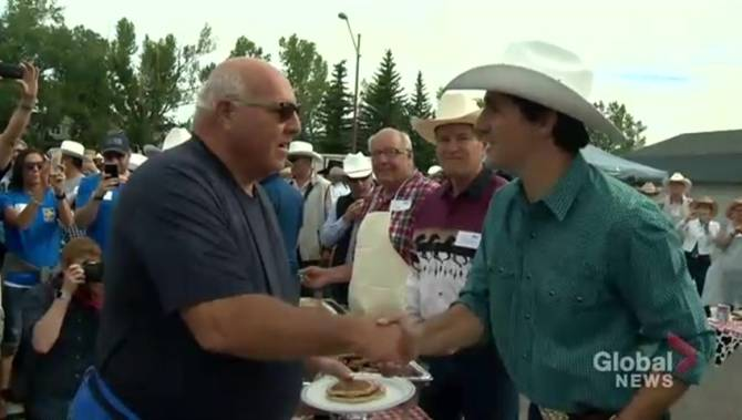 Flapjacks Rodeo On Itinerary For Prime Minister Justin