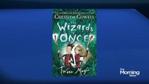 "'How To Train Your Dragon' author Cressida Cowell's new book, ""The Wizards of Once: Twice Magic"""