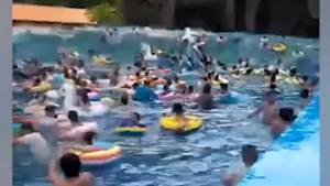 Over forty people injured following wave pool malfunction at water park in China