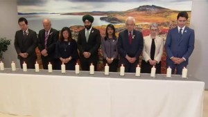 Trudeau holds remembrance ceremony for 14 victims of École Polytechnique shooting