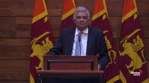 Sri Lanka PM believes attacks had Islamic State links
