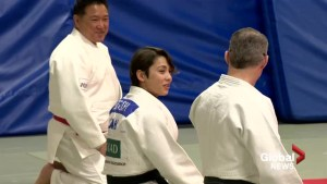 1 of Canada's top female Judo athletes has Olympic aspirations