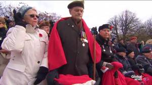 Ottawa Children's Choir sing 'O Canada' for Remembrance Day