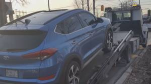 Driver speaks out after sunroof shatters