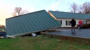 Tornado leaves Alabama city dealing with storm damage as more severe weather expected in U.S.