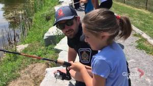 Kids and Cops Fishing Day in Peterborough (02:02)