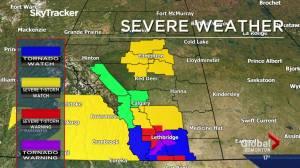 Global Edmonton weather forecast: July 15