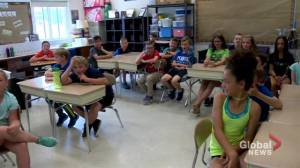 Watrous latest stop for SkyTracker weather school