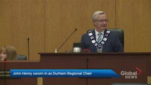 John Henry sworn in as Durham Regional Chair