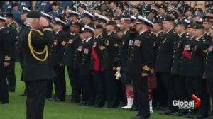 A look at the National Day of Honour marking the end of the Afghanistan mission.