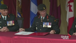 Change of Command ceremony for army in Atlantic Region