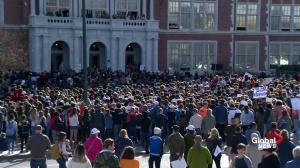 National Walkout Day: Denver school holds moment of silence