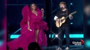 Ed Sheeran gets ripped apart on social media for his performance with Beyoncé