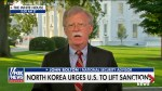 Donald Trump's national security adviser John Bolton says North Korea not taking steps towards denuclearization