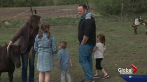 Firefighter reunited with family after battling Fort McMurray wildfire