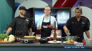 c shares an empanada recipe