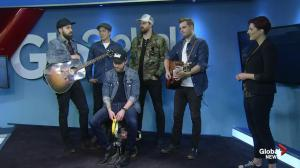 The Proud Sons perform on Global News Morning