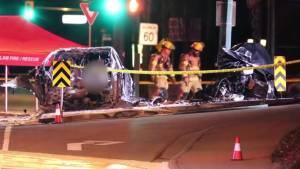 Fatal crash highlights electric car risks