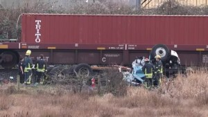 Vancouver man killed after train crashes into truck in Delta