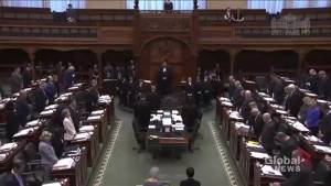 Ontario Legislature holds moment of silence for Toronto van attack victims