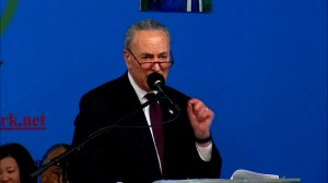 Chuck Schumer promises there will be 'no divisive wall'