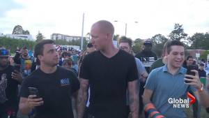 White nationalist surrounded and arrested during Richard Spencer protests
