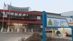 Alberta RCMP detachment shot at; 4 people arrested