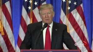 Donald Trump lashes out at media, calls CNN 'fake news'
