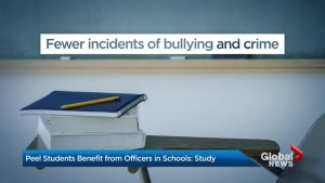 Peel Regional Police in the classroom a benefit to students: study