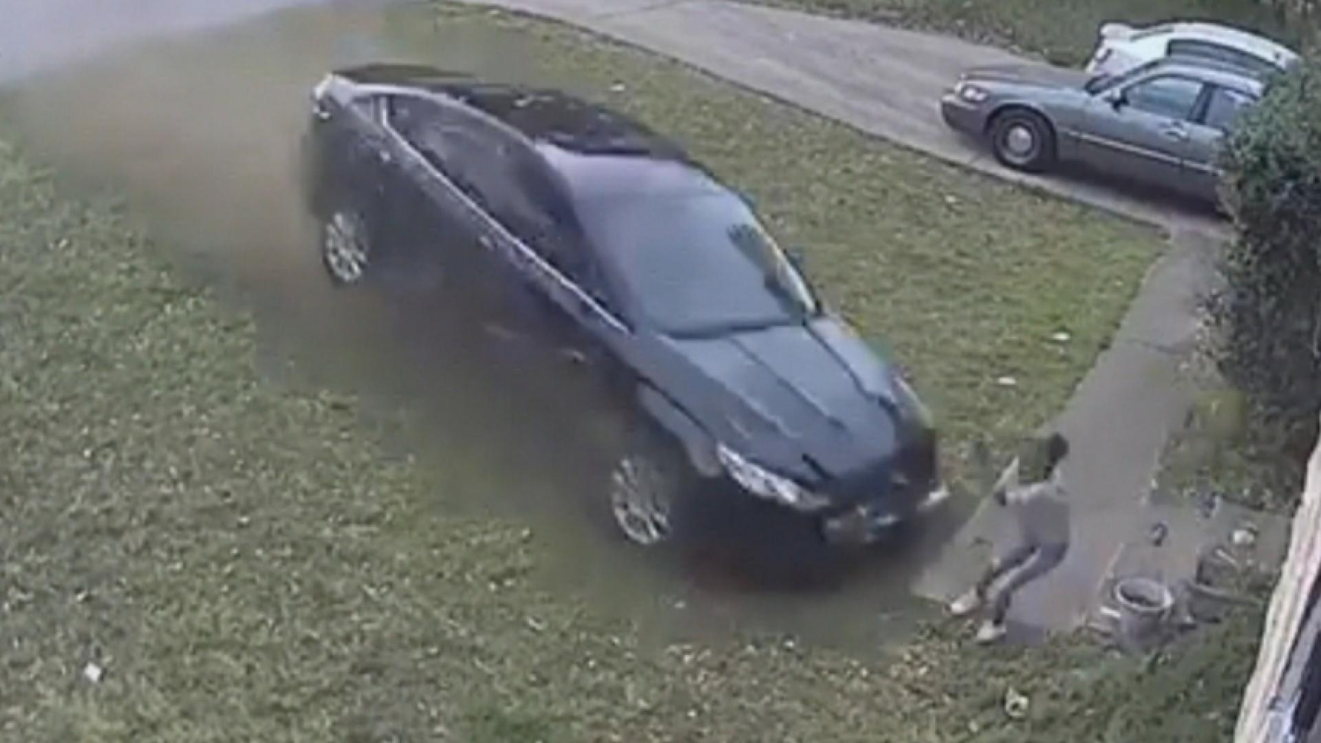Graphic video shows hit-and-run driver plowing into 9-year-old girl