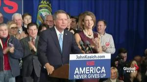 'Something big happened tonight': John Kasich takes second place in New Hampshire primary