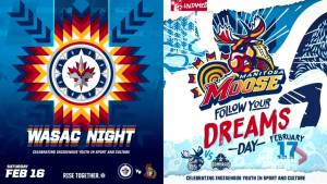 Winnipeg Jets host Indigenous event (04:30)