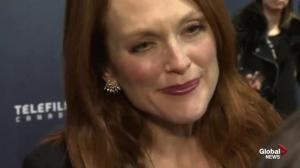 CSA red carpet: Actor Julianne Moore