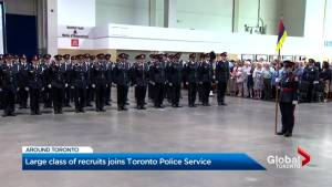 Toronto Police Service graduated its largest class of police recruits in years